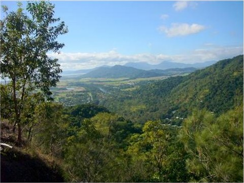 View overlooking Cairns