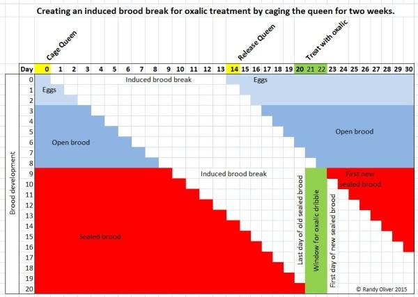 Induced break graphic